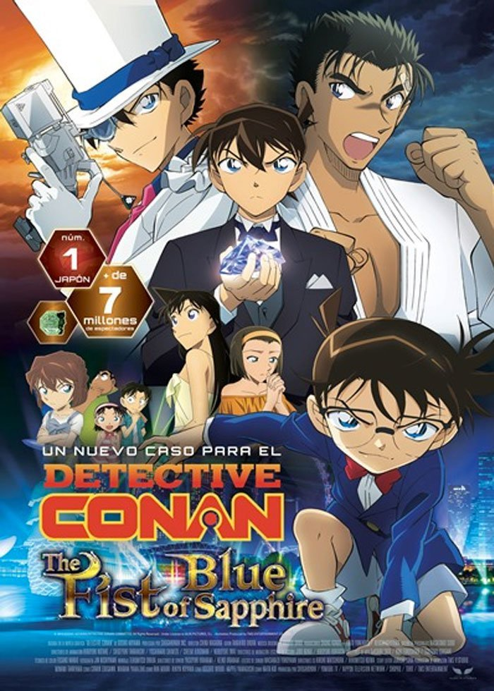 Detective Conan: El puño del Zafiro Azul