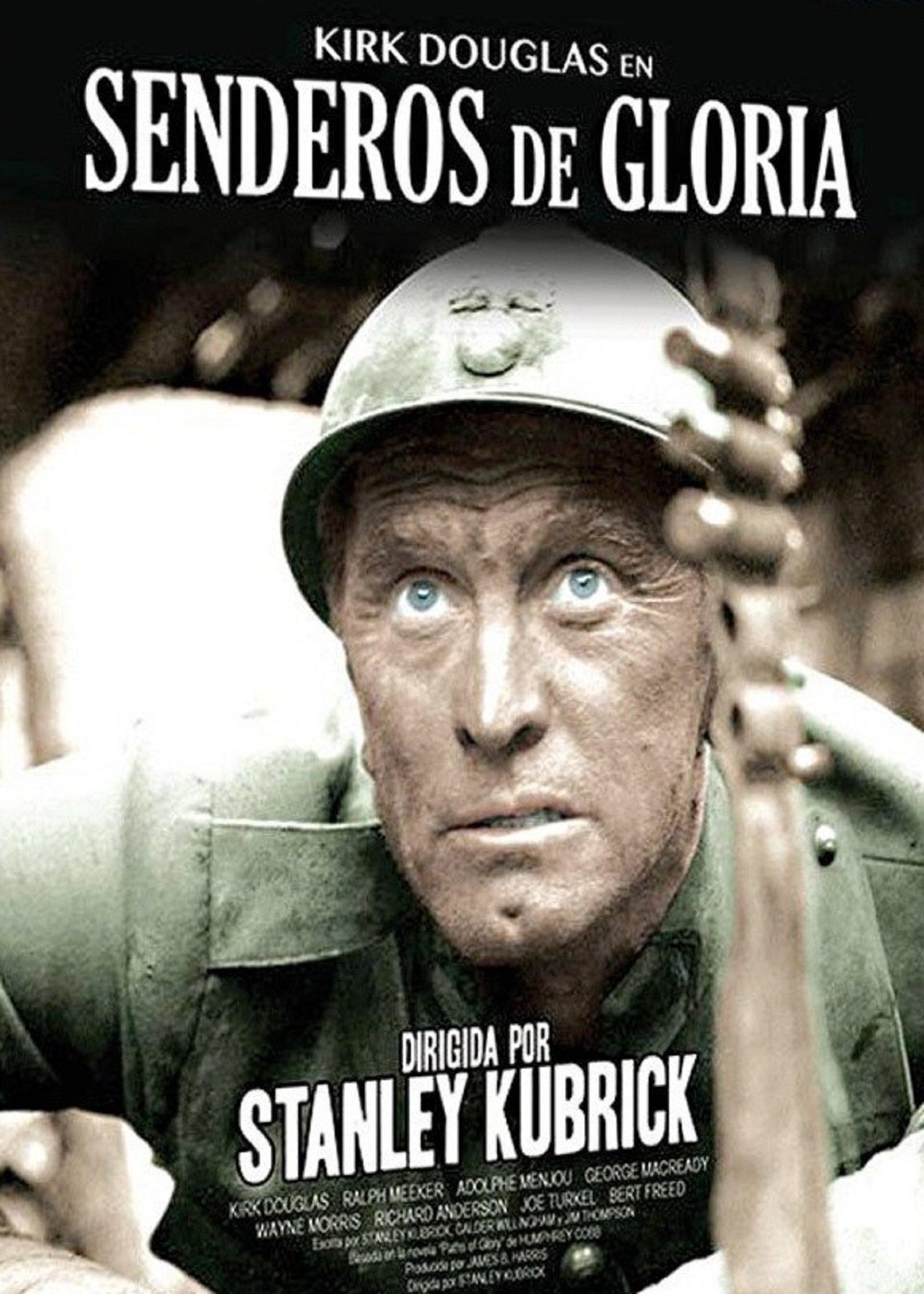 Resultado de imagen de Senderos de Gloria poster